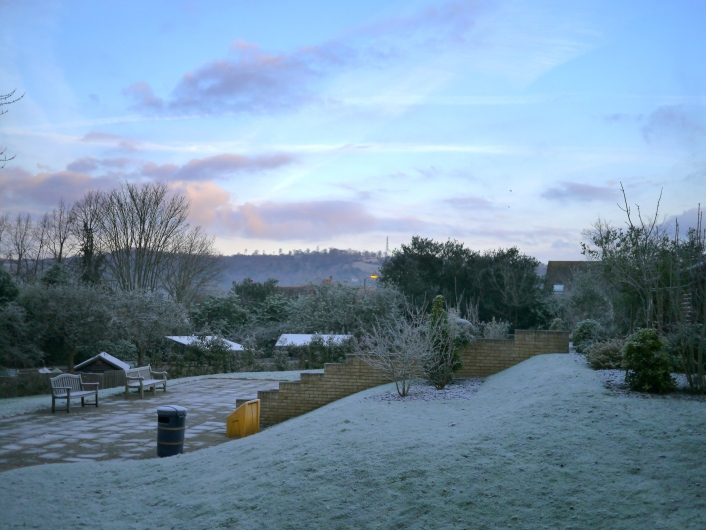 A very cold morning 12-12-12