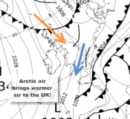 Synoptic chart 11 March 12pm