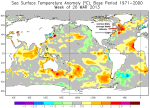 SST anomalies March2013