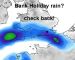 bank hols rain