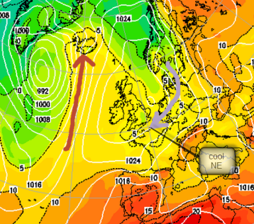 850hPa temps: check Iceland