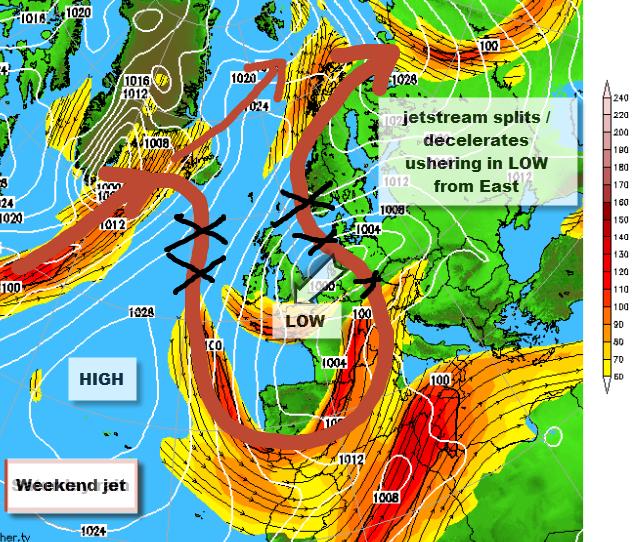 Weekend Weather Is Upsidedown Reigate Grammar School Weather - Us jet stream forecast map