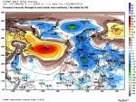 MSLP anomaly for next 10days
