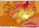 northern iceland feels the heat