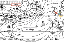 HIGH pressure over UK mid late june
