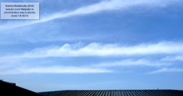 RARE kelvin-helmholtz clouds