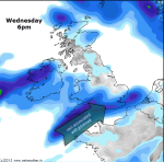 narrow thread of rainfall weds