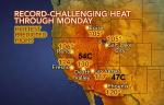 SW USA heatwave