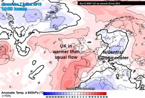 warm UK 7 July