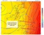 cold front nudges euro heat spikeaway