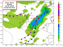 slow moving depression brings high rainfall totals