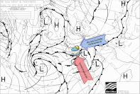 complex fronts at the weekend