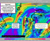jetstream loop drives weather this weekend