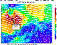 potential gales in South and west... and east