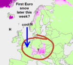 first euro snow