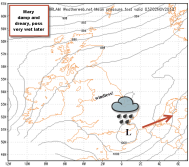 Mary: could be v wet over the SE