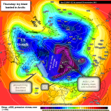 Arctic jet to bring a taste of Pole to UK