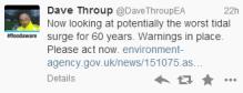 Twitter warnings from EA