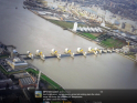 Barrier at height of surge defends London