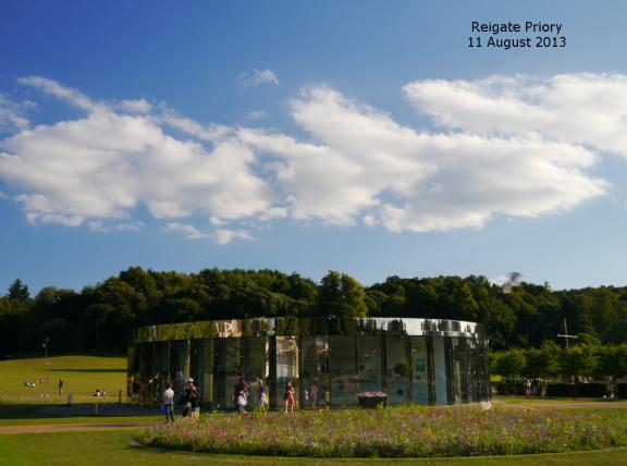 Reigate: delightfully sunny!