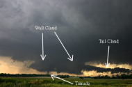 tell-tale severe weather... get indoors, or take a photo!