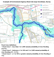 example of flood zoning