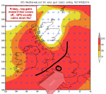 modelled gales are big, at the moment