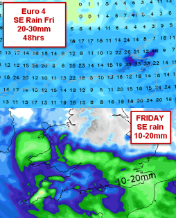 models kept high rainfall