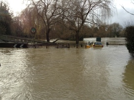 Brockham flood 2014