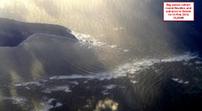 big waves in Solent Feb 15 2014