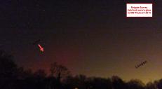 aurora over Reigate