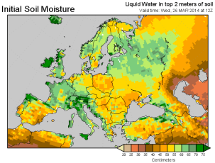 Wet sod: widespread across NW Europe