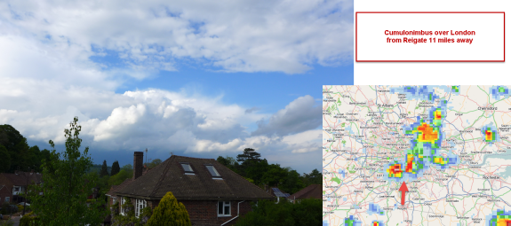 Moderate Cb over Reigate