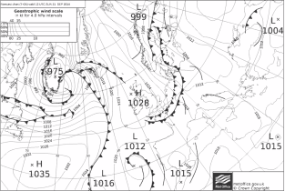 HIGH building with northerly flow for Reigate