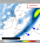 cold front arrives Reigate Saturday