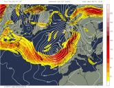 jetstream lowers pressure