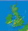 approx locations of tornados 8 October 2014 UK