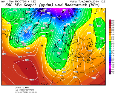 trough mid week