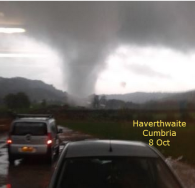 tornado in Cumbria 2014