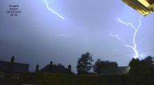 lightning over Reigate