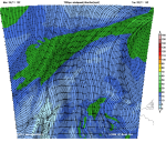 winds 700hPa: 3000m