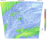 1000 hPa surface gusts: none