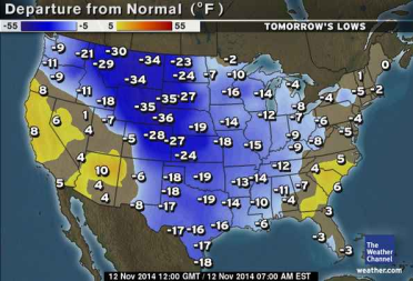 early COLD for the N America