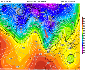 Arctic winds for next weekend