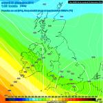 LOW further s = colder for SE