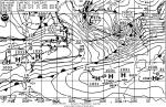 produce hurricane force at sea