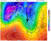 cool Arctic blast next weekend poss