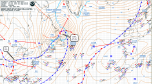 synoptic analysis chart Sun 25 Jan 2015