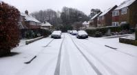 brief snow Reigate 31 Jan 2015