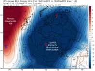 low pressure S Europe